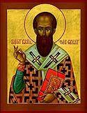 Saint Basile le Grand (fêté le 1èr janvier)